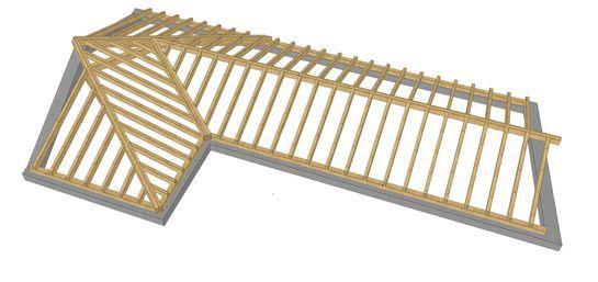 Cubierta y estructuras en madera carlos quintana s l - Estructura tejado madera ...